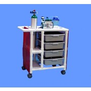 Care Products, Inc. PVC Emergency Crash Cart