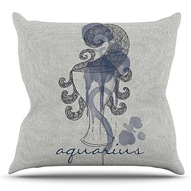 KESS InHouse Aquarius by Belinda Gillies Outdoor Throw Pillow
