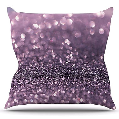 KESS InHouse Lavender Sparkle by Debbra Obertanec Outdoor Throw Pillow