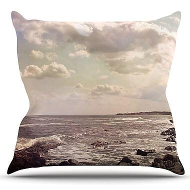 KESS InHouse Rocky Coast by Debbra Obertanec Outdoor Throw Pillow