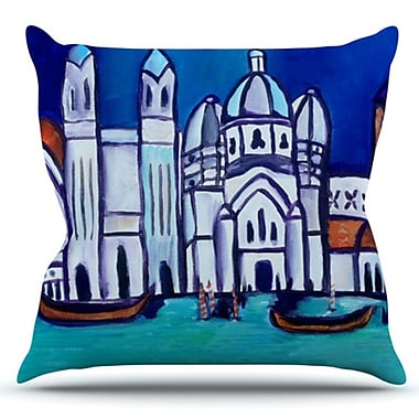 KESS InHouse Venice by Theresa Giolzetti Outdoor Throw Pillow