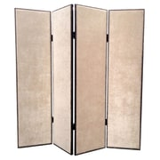 Screen Gems 84'' x 84'' Contemporary 4 Panel Room Divider