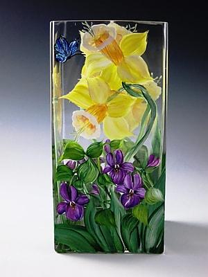 ChristinasHandpainted Simply Spring Vase WYF078278634280