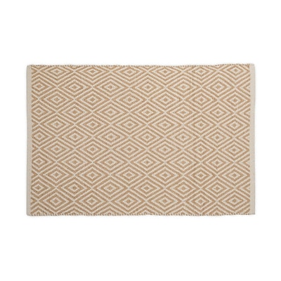 Harbormill Hand-Loomed Tan Area Rug; 2' x 3'