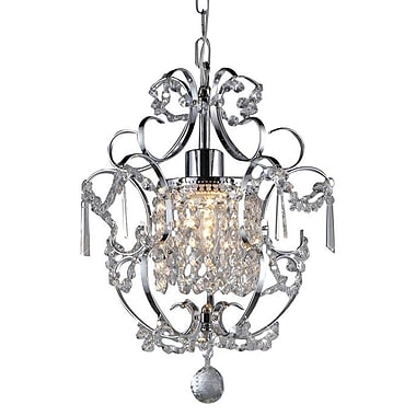 Warehouse of Tiffany Princess 1-Light Crystal Chandelier
