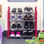 GGI International Sorbus  Kid s Junior 4-Tier Shoe Rack