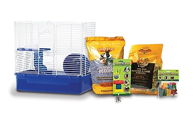 Ware Manufacturing Home Sweet Home Hamster Cage Starter Kit WYF078276346226