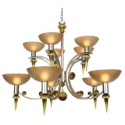 Van Teal Ambrosia Melissa 10-Light Shaded Chandelier