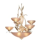 Van Teal Almost Autumn Dominant 6-Light Shaded Chandelier