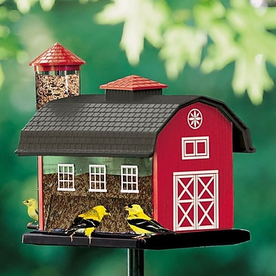 Artline Red Barn Nyjer/Thistle Decorative Bird Feeder (WYF078276391305) photo