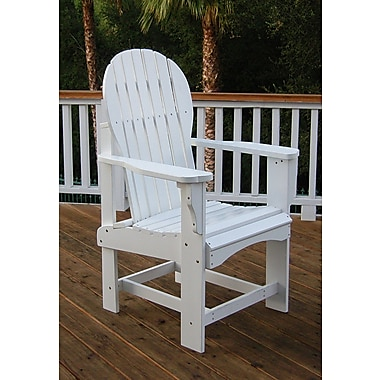 Shine Company Inc. Captiva Dining Arm Chair; White