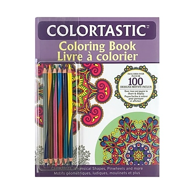 Colourtastic Colouring Book