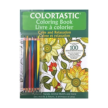 Colourtastic Calm & Relaxation Colouring Book