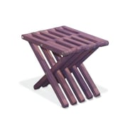 Glodea Xquare Side Table; Purple Berry