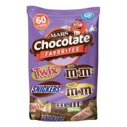 Mars Chocolate Favorites, 60 Piece, 33.90 Oz (225-00033)