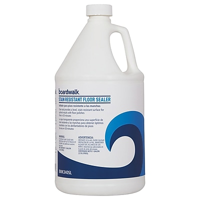 Boardwalk Stain Resistant Floor Sealer, 1 Gal Bottle
