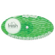 Fresh Products Curve Air Freshener, Cucumber Melon, Green, 10/bx, 6 Bx/ct