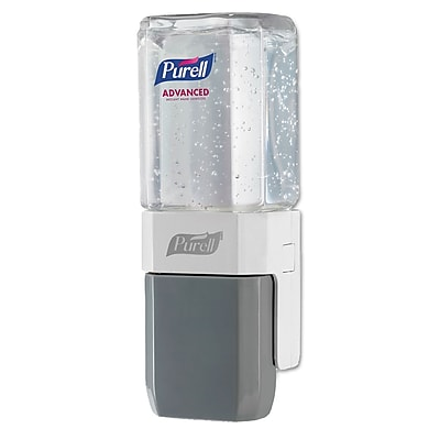 Purell Everywhere System, For 450 Ml Refills, White/gray, 8/carton