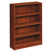 HON® 1890 Series in Cognac, 4-Shelf Bookcase