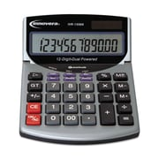 Innovera IVR15968 Minidesk Calculator, 12-Digit Lcd