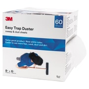 "3M Easy Trap Duster, 8"" X 30ft, White, 60 Sheets/box, 8 Boxes/carton"