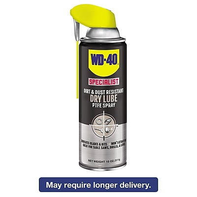 WD-40 Smart Straw Spray Lubricant, 10 Oz Aerosol Can, 6/ct