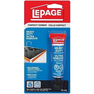 Lepage Pres-tite Blue Contact Cement, Ac147, 36/Pack