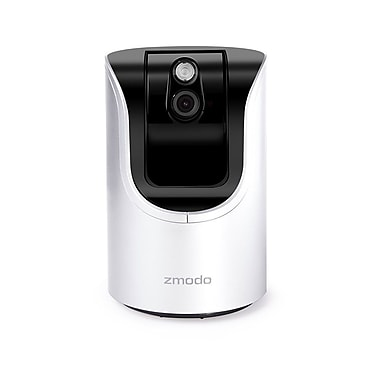 Zmodo Smart Pan Tilt WiFi Camera with 360-degree Monitoring, 2-way Audio, IR Night Vision (ZH-IZV15-WAC)