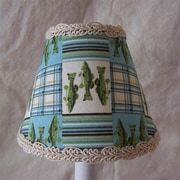 Silly Bear Reel It In 11'' Fabric Empire Lamp Shade