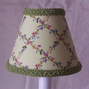 Silly Bear Flower Fantasy 11'' Fabric Empire Lamp Shade