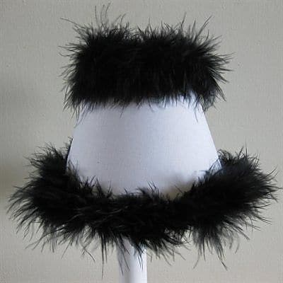Silly Bear Classy Sassy 11'' Fabric Empire Lamp Shade
