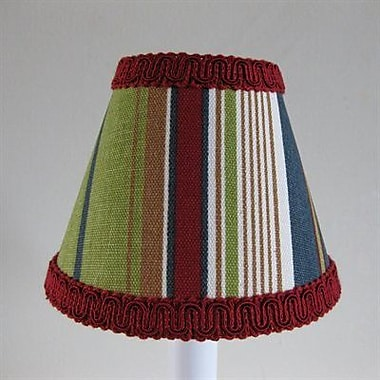 Silly Bear Varsity Stripe 11'' Fabric Empire Lamp Shade