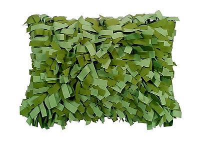Edie Inc. Palmera Outdoor Lumbar Pillow; Leaf/Lime