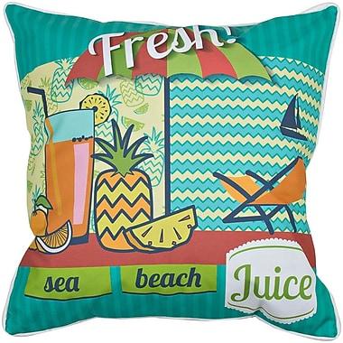 Island Girl Home Garden Fresh Juice Throw Pillow