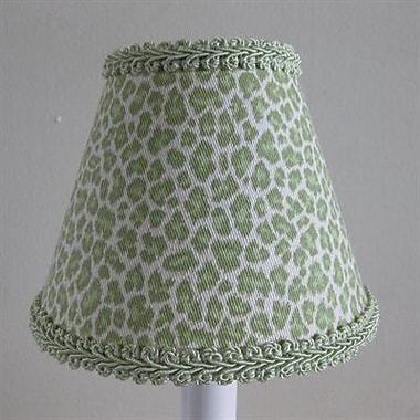 Silly Bear Leopard Print 11'' Fabric Empire Lamp Shade
