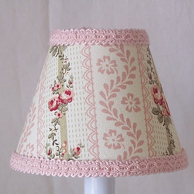 Silly Bear Friendly Floral 11'' Fabric Empire Lamp Shade