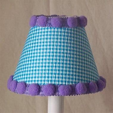 Silly Bear Watercolor Pom-Poms 11'' Fabric Empire Lamp Shade