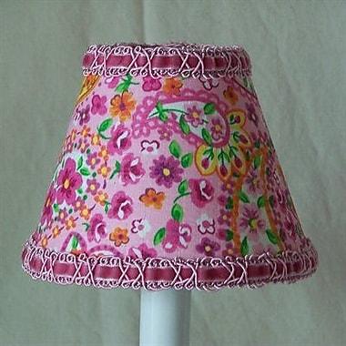 Silly Bear Floral Made Fun 11'' Fabric Empire Lamp Shade