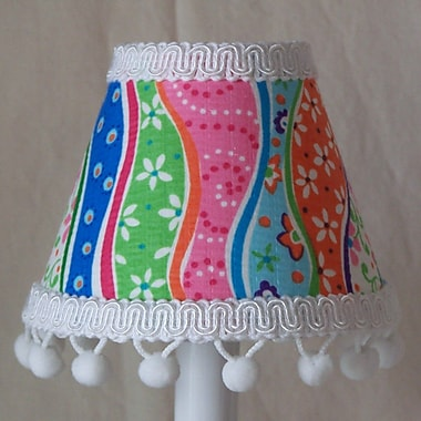 Silly Bear Patterns Gone Mad 11'' Fabric Empire Lamp Shade