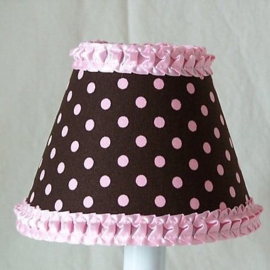 Silly Bear Strawberry Sprinkles 11'' Fabric Empire Lamp Shade