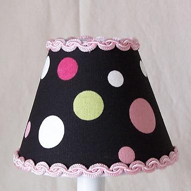 Silly Bear Sweet Pea Polka Dot 11'' Fabric Empire Lamp Shade