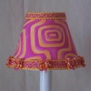 Silly Bear Explosion of Color 11'' Fabric Empire Lamp Shade