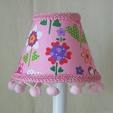 Silly Bear Spring Splendor 11'' Fabric Empire Lamp Shade