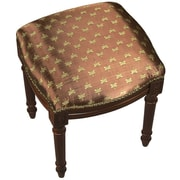 123 Creations Dragonfly Upholstered Vanity Stool W