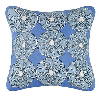 Kate Nelligan Urchins Cotton Throw Pillow