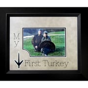 The James Lawrence Company My First Turkey Picture Frame