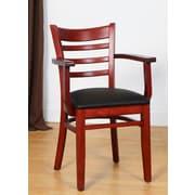Benkel Seating Arm Chair; Mahogany