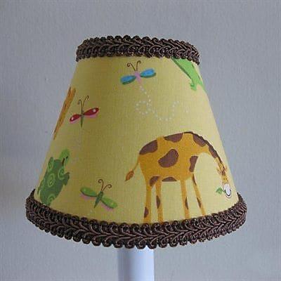 Silly Bear Animal Friends 11'' Fabric Empire Lamp Shade