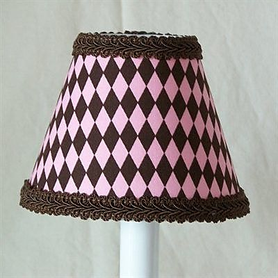 Silly Bear Frosted Brownies 11'' Fabric Empire Lamp Shade