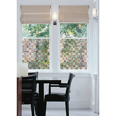 WallPops! Klimt Window Film; Red/Yellow/Brown